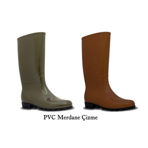 PVC Merdane Çizme
