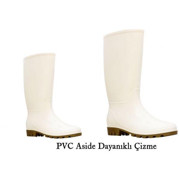 PVC Aside Dayanıklı Çizme