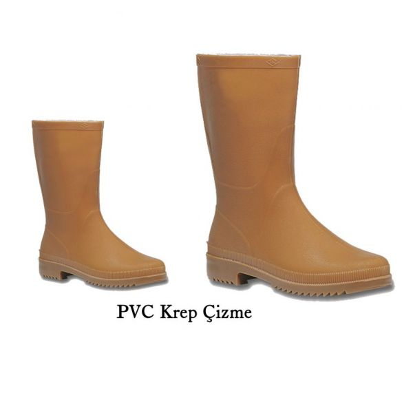 PVC Krep Çizme